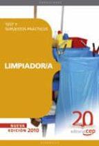 limpiador/a. test y supuestos practicos 9788468105574