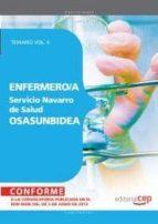 ENFERMERO/A DEL SERVICIO NAVARRO DE SALUD-OSASUNBIDEA. TEMARIO VO L II