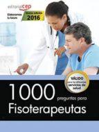 1000 preguntas para fisioterapeutas 9788468168074