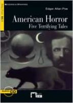 american horror. five terrifying tales. (b2.1) edgar allan poe 9788468200774