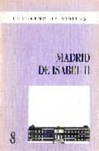 madrid de isabel ii 9788487290374