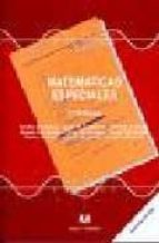 matematicas especiales (2ª ed.) emilio bujalance 9788488667274