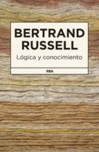 logica y conocimiento-bertrand russell-9788490065174