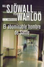 el abominable hombre de säffle maj sjöwall per wahlöö 9788490567074