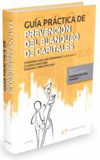 guia practica de prevencion del blanqueo de capitales covadonga mallada fernandez 9788490990674