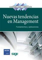 nuevas tendencias en management: fundamentos y aplicaciones-9788492956074