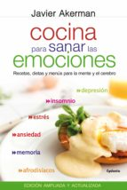cocina para sanar las emociones-javier akerman-9788494125874