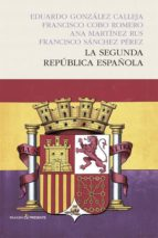 la segunda republica española 9788494313974
