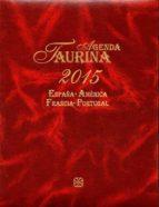 agenda taurina 2015 9788496018174