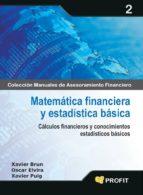 matematica financiera y estadistica basica: calculos financieros y conocimientos estadisticos basicos-xavier puig-9788496998674