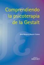 comprendiendo la psicoterapia de la gestalt-ana gimeno-bayon cobos-9788497434874