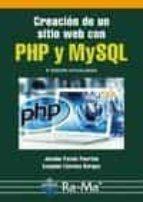 creación de un sitio web con php y mysql (5ª ed.)-jacobo pavon puertas-9788499645674