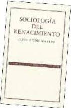 sociologia del renacimiento-alfred von martin-9789681675974