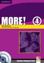 more! 4: teacher s resource pack + testbuilder cd-rom-herbert puchta-9780521713184