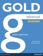 gold advanced ne exam maximiser w/ online audio (no key) (examenes) 9781447907084