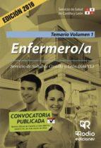 ENFERMERO/A. TEMARIO. VOLUMEN 1. SERVICIO DE SALUD DE CASTILLA Y LEÓN