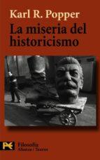 la miseria del historicismo-karl raimund popper-9788420640884