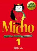 micho 1 metodo de lectura castellano edicion 2003 lectoescritura-9788421650684