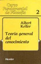 teoria general del conocimiento albert keller 9788425415784