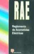 rae (reglamento de acometidas electricas) 9788428322584
