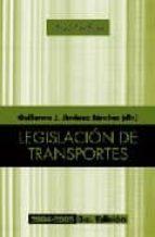 legislacion de transportes (3ª ed.)-guillermo j. jimenez sanchez-9788434430884
