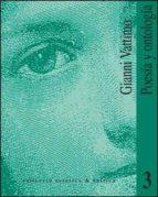 poesia y ontologia-gianni vattimo-9788437013084