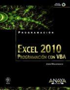 excel 2010: programacion con vba-john walkenbach-9788441528284