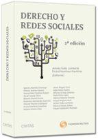 derecho y redes sociales (2ª ed.) artemi rallo lombarte 9788447039784