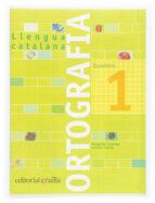 quadern ortografia catalana nº 1 (primaria)-margarida canonge-antonia colom-9788466110884