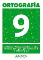 ortografia 9 (primaria) (ed. 2004) andrea pastor fernandez 9788466727884