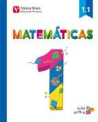matematicas 1 (1.1 1.2 1.3) aula activa primero de primaria 9788468220284