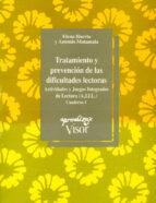 tratamiento y prevencion de las dificultades lectoras. cuaderno 1 elena huerta antonio matamala 9788477741084