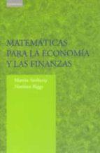 matematicas para la economia y las finanzas: una introduccion martin anthony norman biggs 9788483232484
