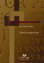 analisis de epigrafia ibera jesus rodriguez ramos 9788483736784