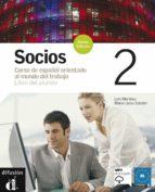socios 2. libro del alumno (incluye cd)-9788484434184