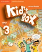 kid s box 3º primaria (pupil s book) spanish (2nd.edition)-9788490364284