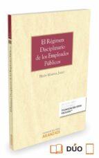 regimen disciplinario de los funcionarios publicos formato duo belen marina jalvo 9788490984284