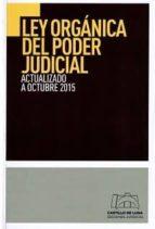ley organica del poder judicial-9788494276484