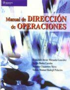 manual de direccion de operaciones francisco javier miranda gonzalez 9788497322584