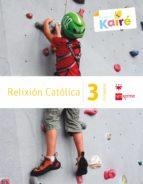 El libro de Relixión kairé celme 3º educacion primaria ed 2014 gallego autor VV.AA. DOC!