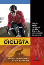 entrenamiento del ciclista chris carmichael 9788499104584