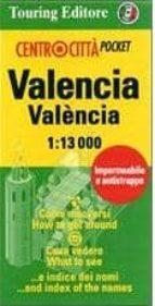 valencia centrocitta, plano callejero plastificado-9788836556984