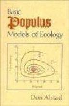 Descarga gratuita de Ebook italiano Basic populus models of ecology