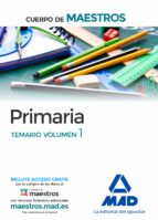 cuerpo de maestros primaria. temario volumen 1 9788414201794