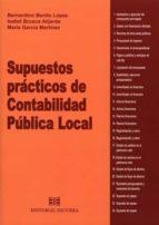 supuestos prácticos de contabilidad pública local bernardino benito lopez 9788416190294