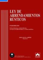 ley de arrendamientos rústicos (6ª ed.) 9788417135294
