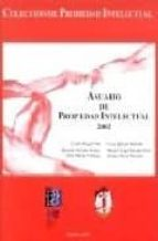 anuario de propiedad intelectual 2002-9788429013894