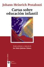 cartas sobre educacion infantil (3ª ed.)-jose maria quintana cabanas-johann heinrich pestalozzi-9788430944194