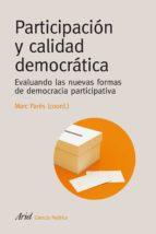 participacion y calidad democratica 9788434418394
