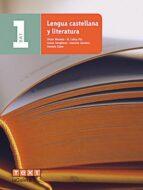 Descargas gratuitas de libros electrónicos Lengua castellana y literatura 1º batxillerat